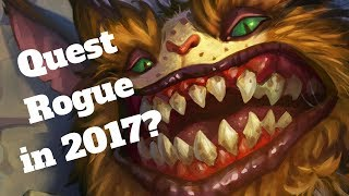 Feral Gibberer in a real deck? Quest Rogue! [Hearthstone Game of the Day]