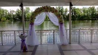 Выездная свадебная церемония в ресторане Камелот. Днепр