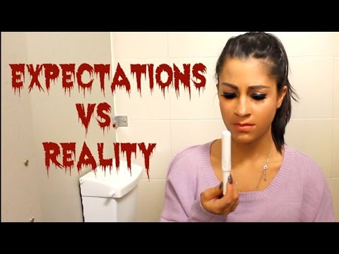 Thumbnail: Being on Your Period EXPECTATIONS vs REALITY w/ Alessandra DeMartino