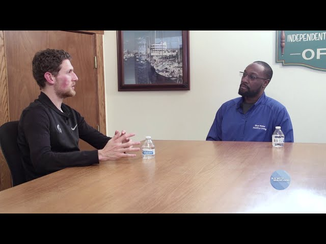 Sunday Conversation with Joseph Hayes and Big Ten champion Morgan Beadlescomb