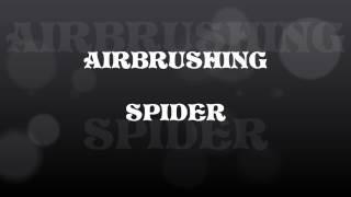 أيربروشينغ العنكبوت على قميص ايواتا CREATEX شفافة