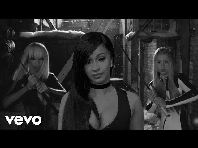 Cardi B, Iggy Azalea -  Bodak Black (Explicit) [Remix]