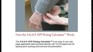 How the S.N.A.P APP Pricing Calculator Works