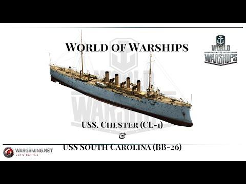 World of Warships - Battleships - Unlocking the USS South Carolina