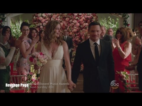 "Revenge 4x23  Emily and Jack Wedding ""Two Graves"" Series Finale"