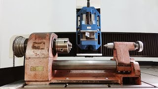 Test mini lathe on cnc router