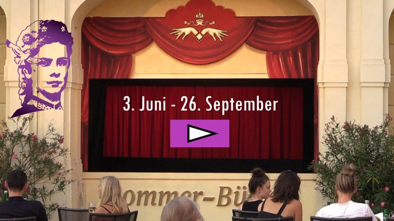 Sisis Geheimnis - das Musical   Marionettentheater Schloss Schönbrunn 2021  Sommerbühne