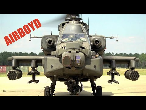 Boeing AH-64D Apache Helicopter Systems check