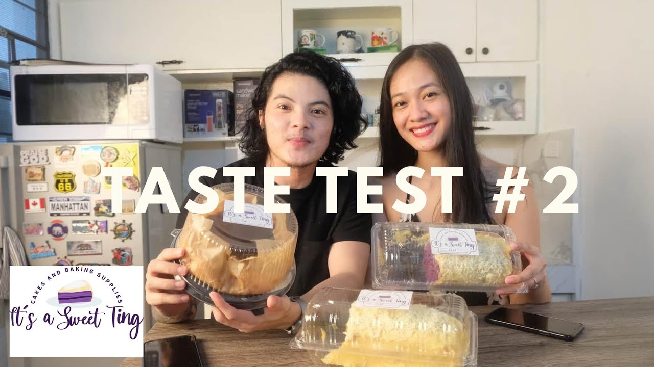 TASTE TEST | IT'S A SWEET TING