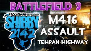 Battlefield 3 - M416 Assault Medic - Tehran Highway Rush - AAV-7A1 AMTRAC BF3 Gameplay Commentary