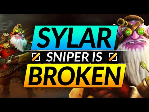 Why You NEED to PLAY SNIPER (SUPER BROKEN) SYLAR Mid Tips and Tricks Dota 2 Guide
