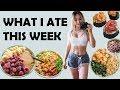 What I Eat In A Week | Emotional Week | Healthy Meals