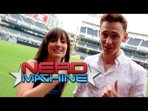 Tom Hiddleston - Exclusive Interview - Nerd HQ (2013) HD - Alison Haislip
