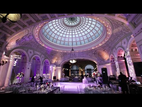 AMAZING Chicago Cultural Center Wedding Video