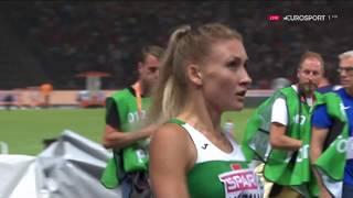 Эльвира Герман - чемпионка Европы в беге на 100м с барьерами