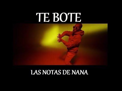 """Notas De La Canción """"Te Bote"""""""