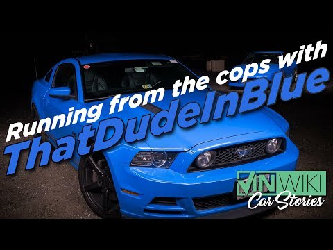 Running from the Cops with ThatDudeInBlue