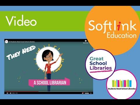 #GreatSchoolLibraries in video