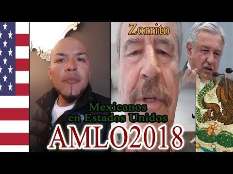 """Mexicano en Estados Unidos le Responde a Vicente Fox """"Amlo2018"""""""