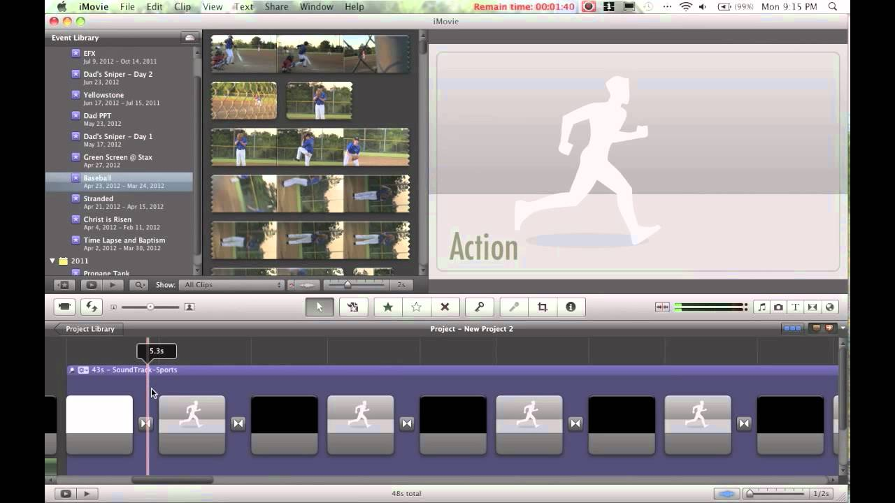 How to Use iMovie Trailer Titles in a Regular iMovie Project - YouTube