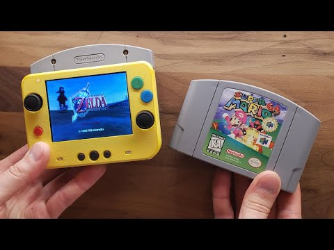 World's Smallest Nintendo 64 portable