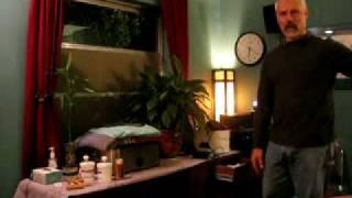 Massage room tour