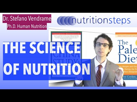 Nutrition Steps 1.2 - The Science of Nutrition
