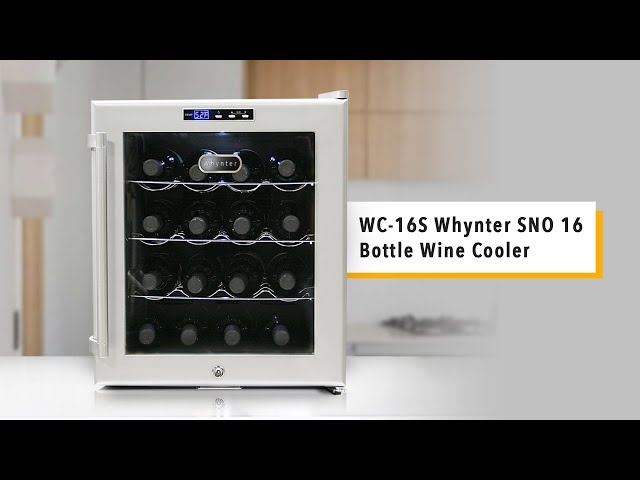 WC-16S Whynter SNO 16 Bottle Wine Cooler