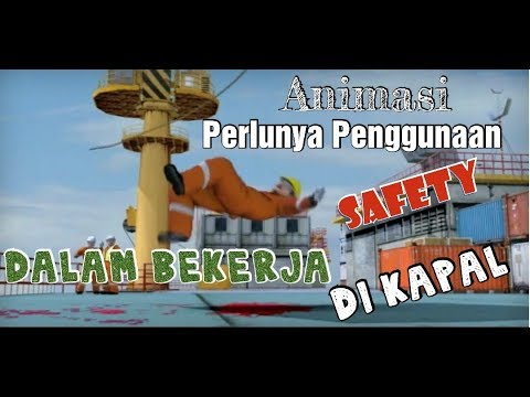 Animasi prosedur kerja Offshore _ Crane Operations ( Part 2 )