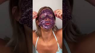 GLITTER FACE MASK | Sydney Morgan #SHORTS