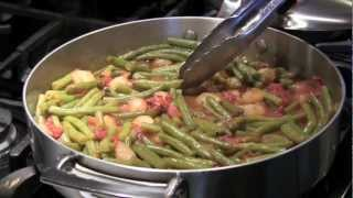 Kimberly In The Kitchen Green Beans And Tomatoes