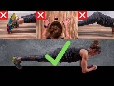 Stop Making These Plank Mistakes - Three Easy Fixes To Plank Correctly