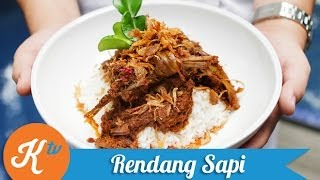 Resep Rendang Sapi (beef Rendang Recipe Video/caramelized Beef Curry)
