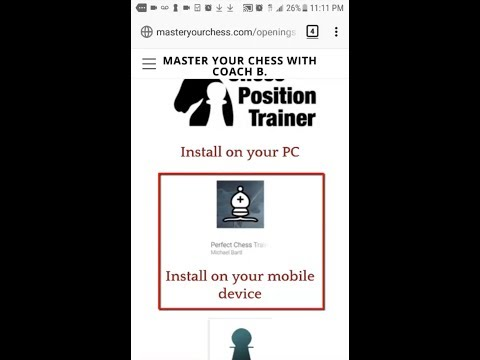 How To Use The Perfect Chess Trainer App To Learn New Openings
