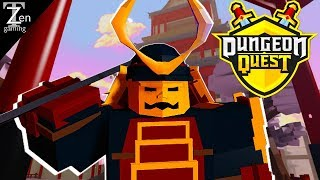 DUNGEON QUEST SAMURAI PALACE NIGHTMARE EP21 | ROBLOX