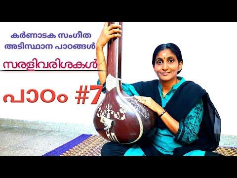 കർണ ണ ടക സ ഗ ത അട സ ഥ ന പ ഠങ ങൾ Carnatic Music Basic Lessons In Malayalam Class 8 Youtube