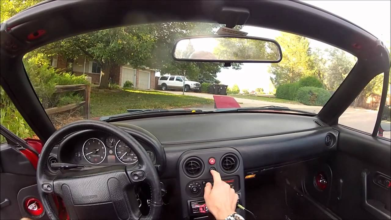 how to make a mazda miata mx5 wink without wiring doovi. Black Bedroom Furniture Sets. Home Design Ideas