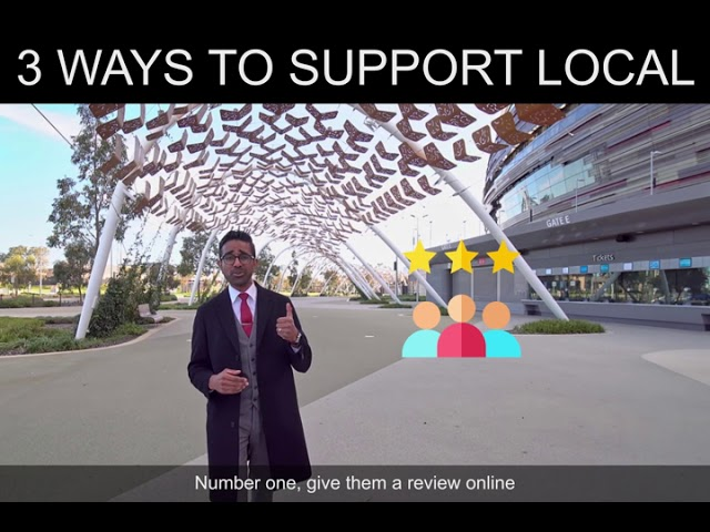 3 Ways to Support Local