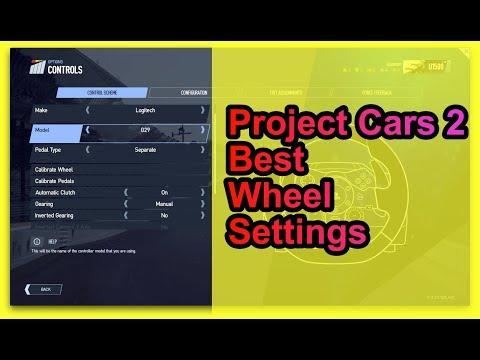 Project Cars 2 Best wheel settings (Logitech G29/G920