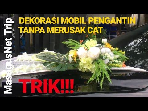 Dekorasi Mobil Pengantin Tanpa Perekat Dan Tidak Merusak Cat Mobil Bmw E39 Wedding Car