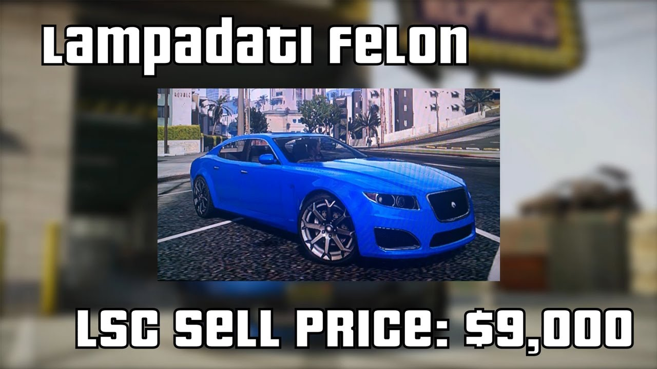 hd gta v online top 10 cars to sell at los santos customs best resale prices youtube. Black Bedroom Furniture Sets. Home Design Ideas