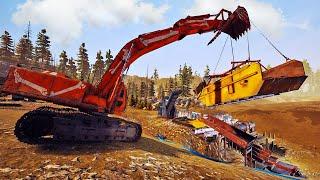 Building The Ultimate Gold Mining Washplant - Nighthawk Alaska Parcel Gold Mining - Gold Rush