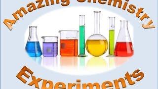 εντυπωσιακά πειράματα χημείας amazing chemistry experiments