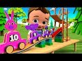 Little Baby Fun Play Learning Animals Names for Children with Wooden Animals Numbers Toys Slider 3D