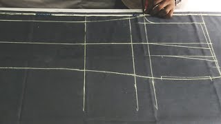 Men's double plate pant cutting / latest tutorial (DIY) step by step in hindi