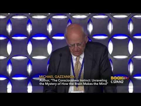 The Consciousness Instinct - Prof. Michael Gazzaniga - Can Machines be Conscious?