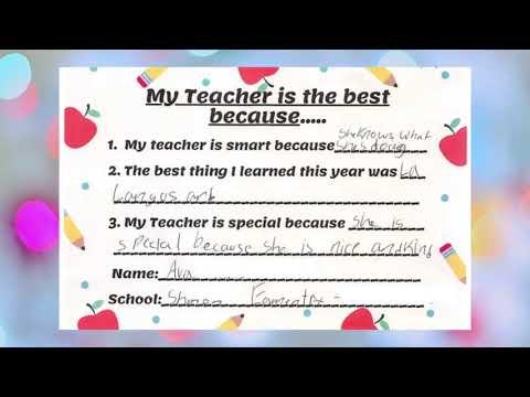 Mellion Orthodontics - Fairlawn & Medina - Best Teacher Recognition