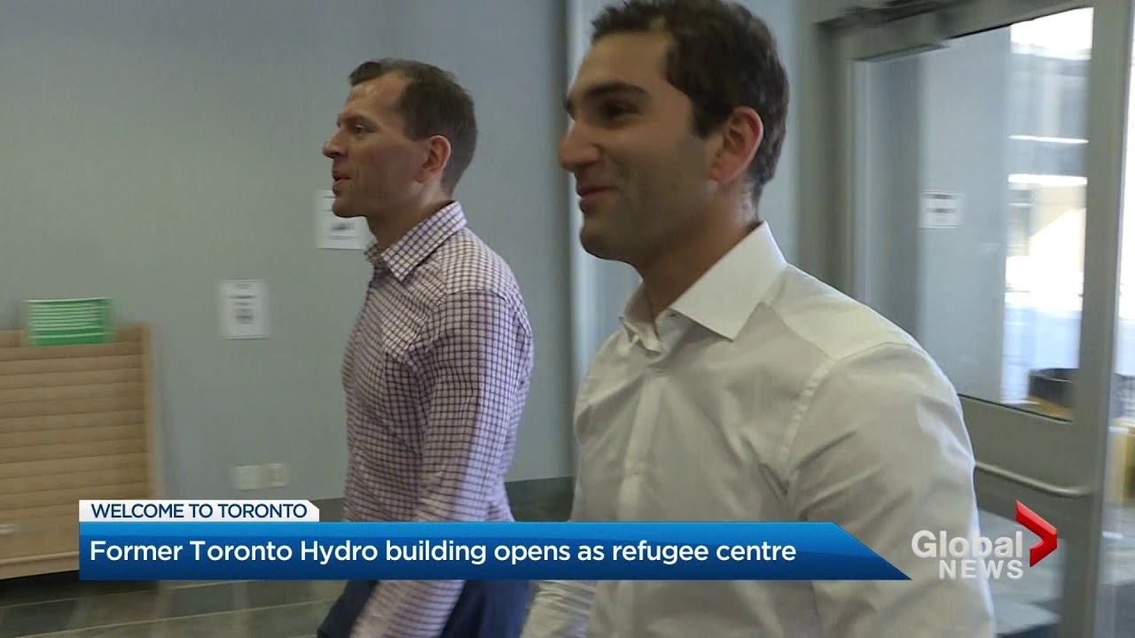 """Image result for Immigrant developers turn former Toronto Hydro building into refugee shelter"""""""