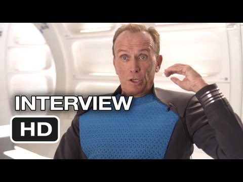 Star Trek Into Darkness Interview - Peter Weller (2013) - Chris Pine Movie HD