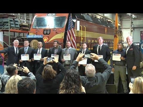 Seven New Train Engineers Join The Depleted Ranks At NJ Transit